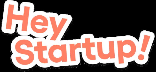 Hey Startup Wordmark